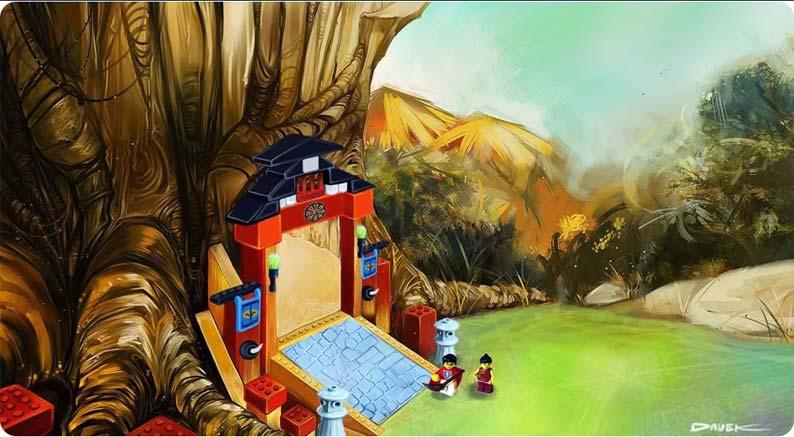 LEGO Universe Ninja Tree