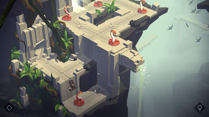 Lara Croft Go Screenshot gameplay